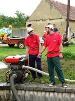 Kutrovice 2007 - 70. výročí hasičů